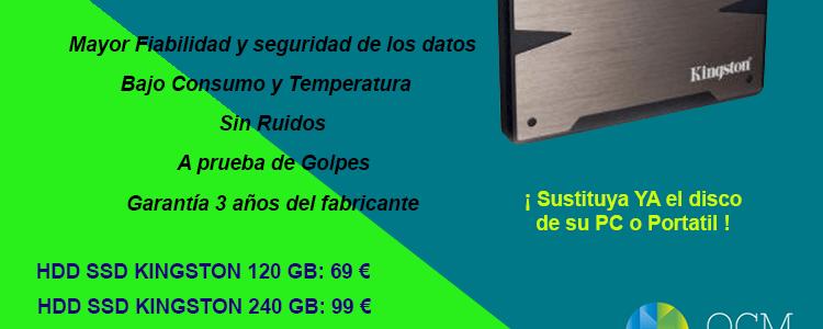 Discos duros SSD desde 69€