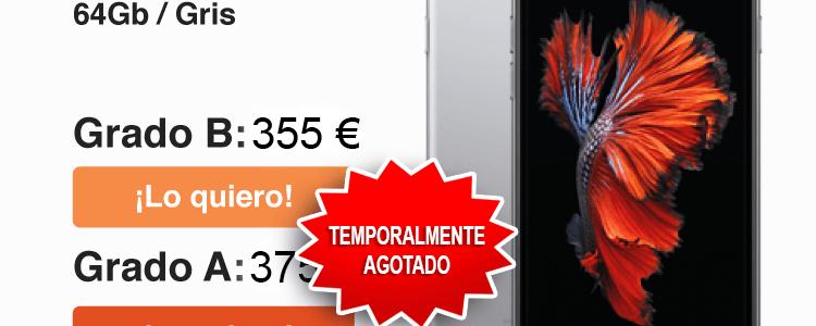 iPhone 6 ocasión desde 335€