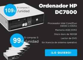 Ordenador HP desde 99€