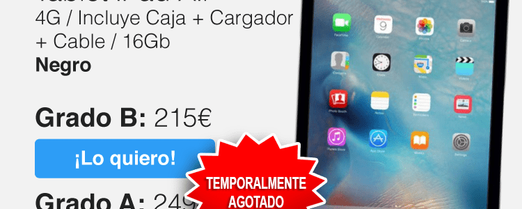 Ipad Air desde 215€