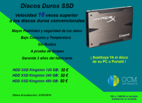 Discos duros SSD desde 30€